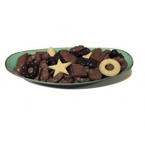 gemixte kerst chocolade