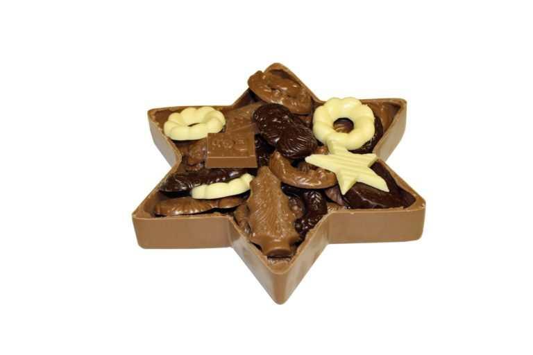 chocolade ster