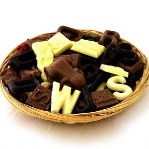 chocolade lettertjes
