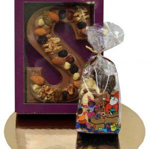 sinterklaas chocolade letter geschenk