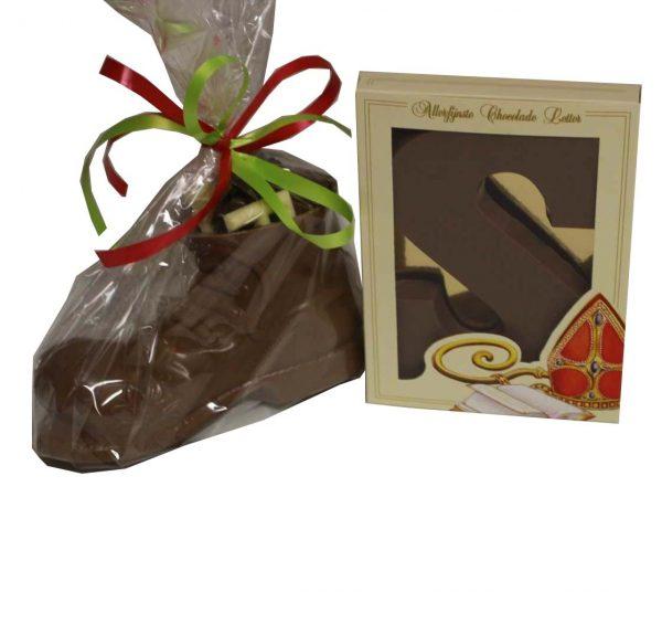 Chocoladeletter geschenk
