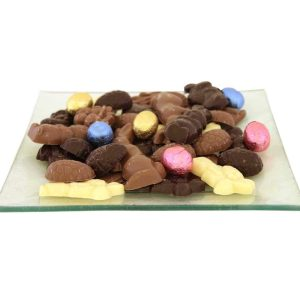 paas chocolade schaal groot