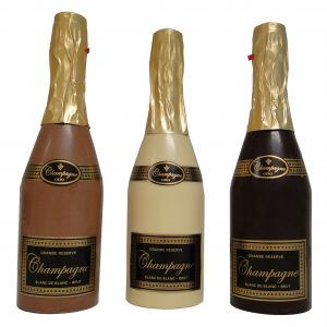 Chocolade champagne puur