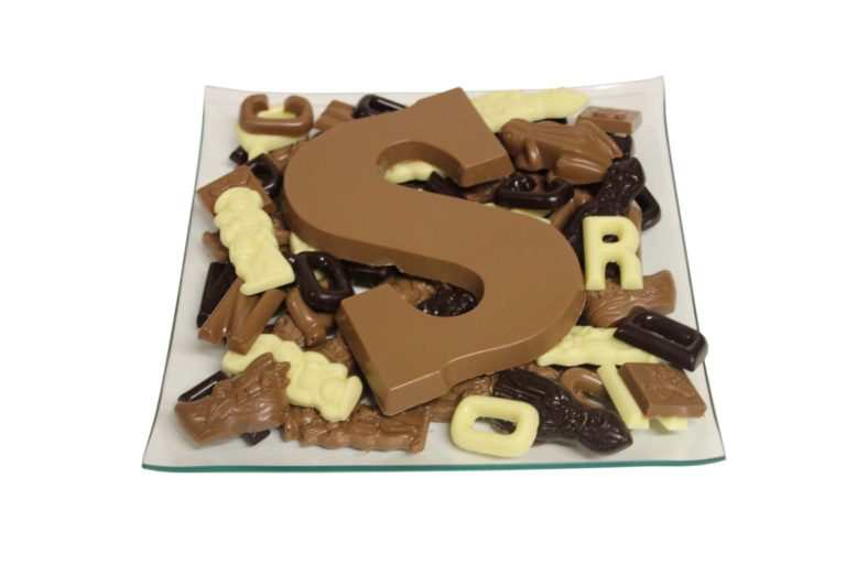 Sinterklaas chocoladeletters