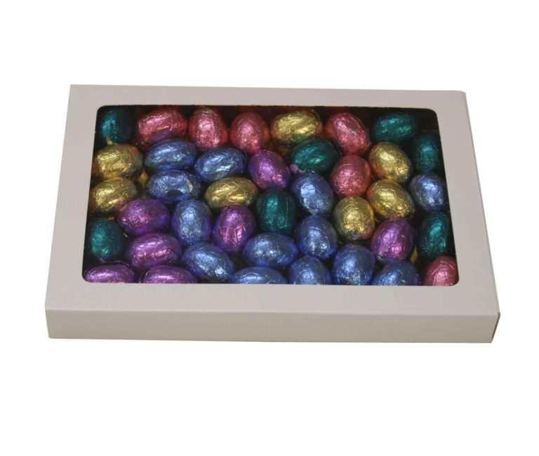 Chocolade Eitjes in geschenk doosje
