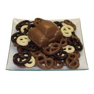 Chocolade auto schaal