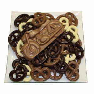Chocolade motor voertuig