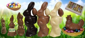 grote chocolade paashaas