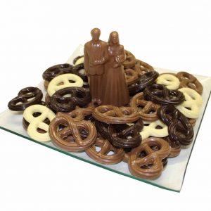 chocolade bruidspaar