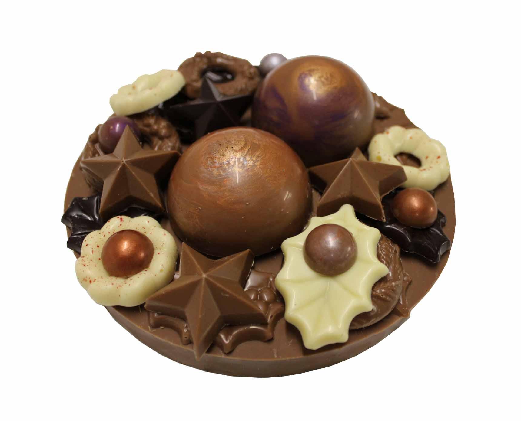 chocolade kerstballen