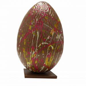 Gekleurd ei groot