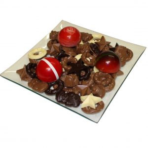Chocolade kerstgeschenk
