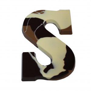 Bponte chocoladeletter