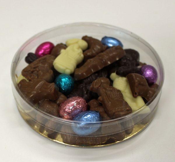 geschenk doosje Paaschocolade